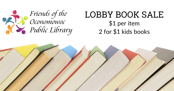 lobby book sale