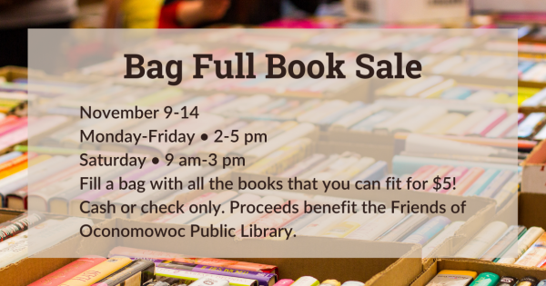 bag full book sale