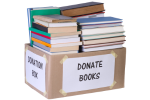 book and media donations