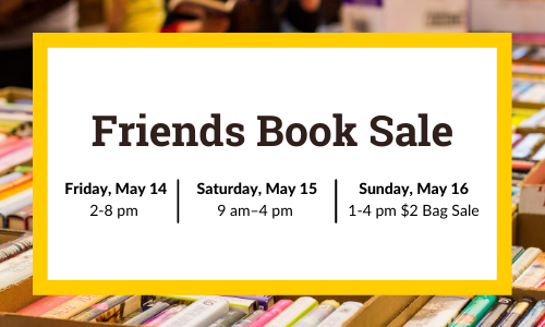 spring 2021 book sale
